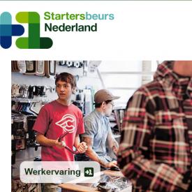 Startersbeurs Nederland logo Werkervaring Werkgeverschap