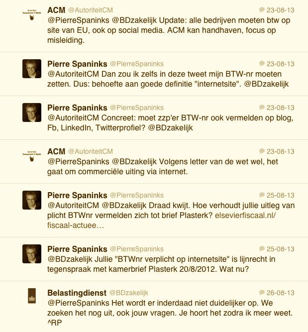 conversatie belastingdienst autoriteit consument en markt  twitter